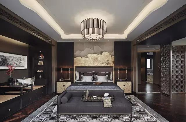 中式卧房设计