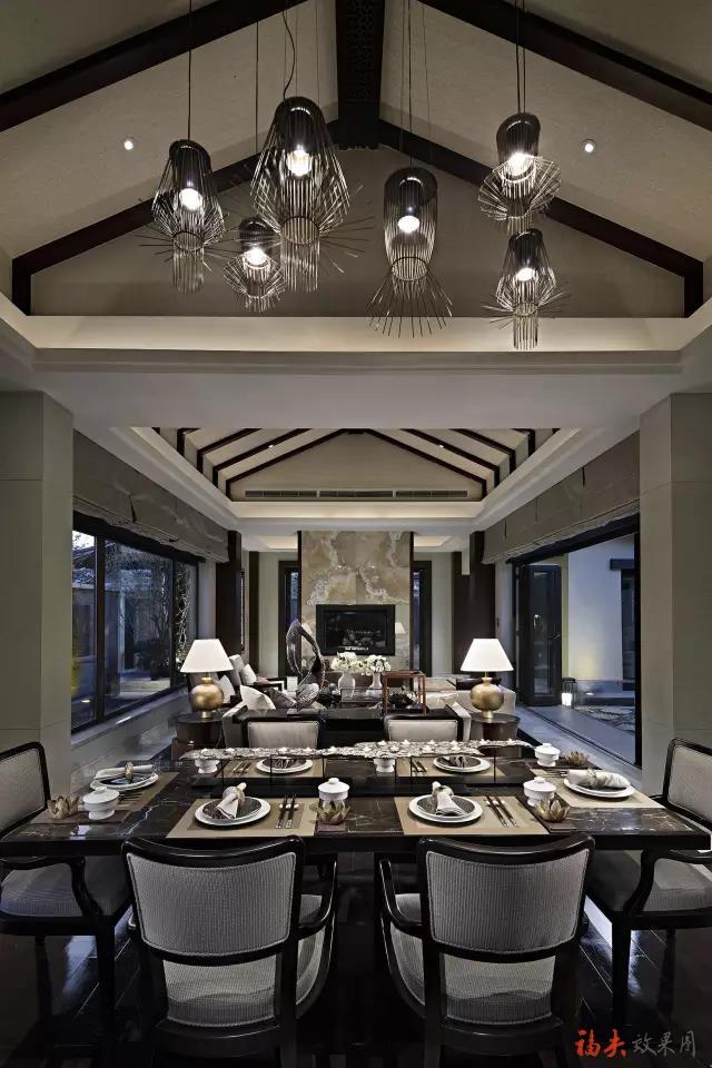 中式 餐厅设计