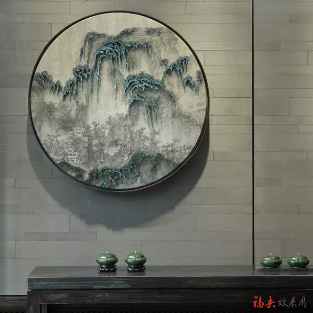 新中式留白设计